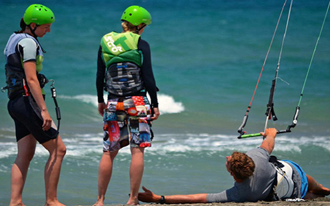 Kite surfing Booking service